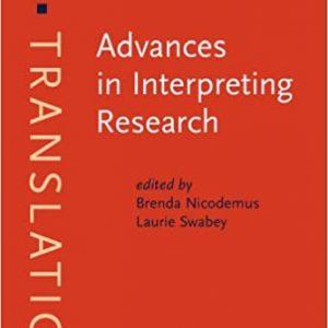 Advances in Interpreting Research