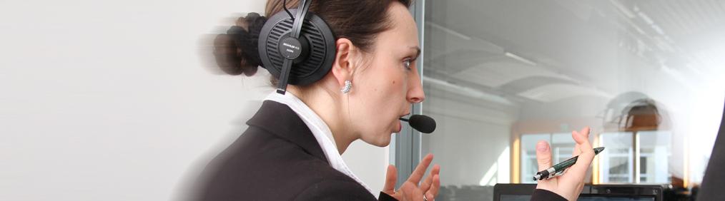 کارشناسی ارشد ترجمه شفاهی در موسسسه زبان و ترجمه مونیخ