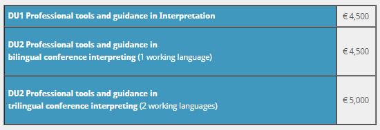 کارشناسی ارشد ترجمه شفاهی در دانشگاه خودگردان استراسبورگ