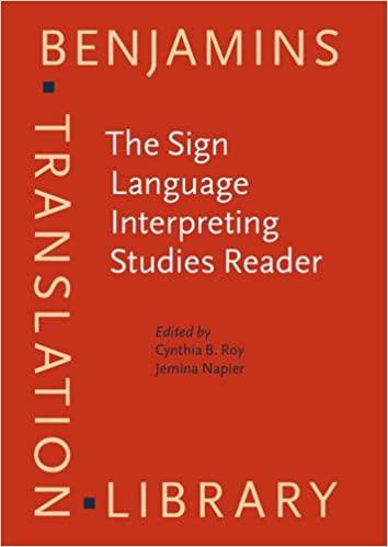 The Sign Language Interpreting Studies Reader
